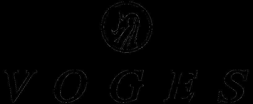 VOGES ロゴ背景透過