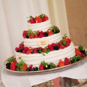 3段ケーキ
